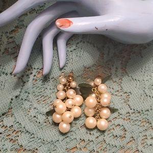 Vintafe grape earrings